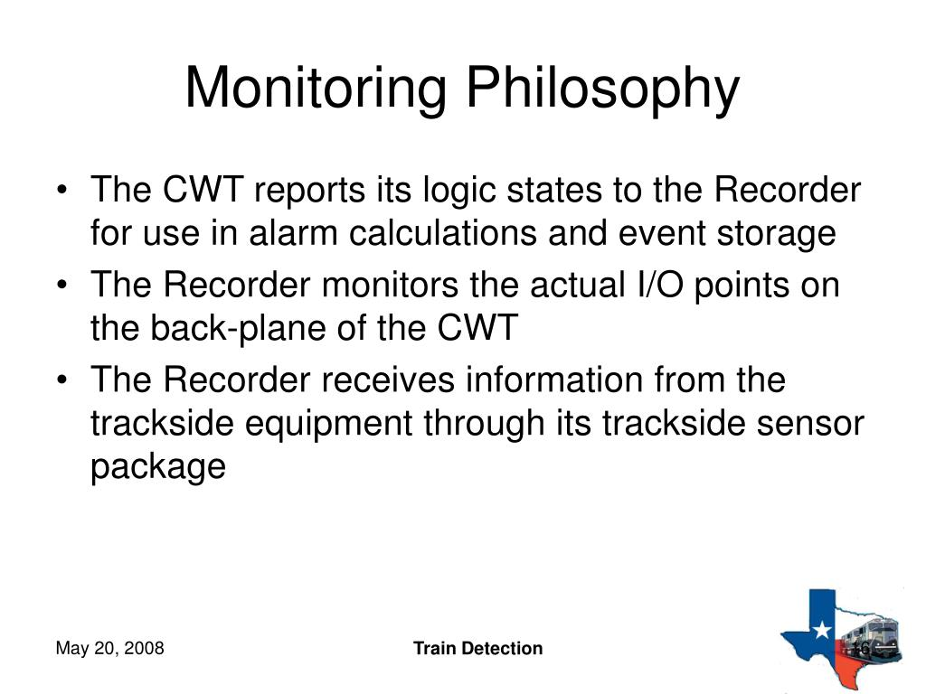 Monitoring Philosophy