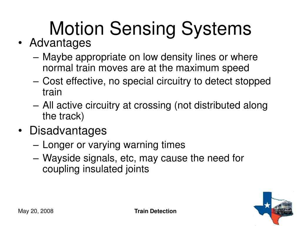 Motion Sensing Systems