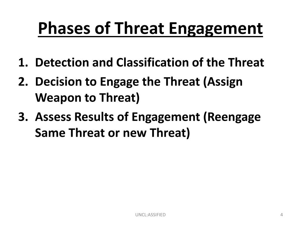 Phases of Threat Engagement