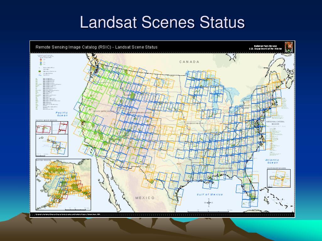 Landsat Scenes Status