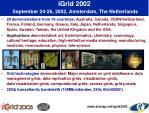igrid 2002 september 24 26 2002 amsterdam the netherlands
