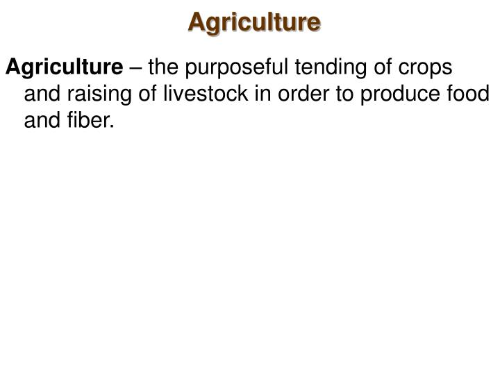 Agriculture2