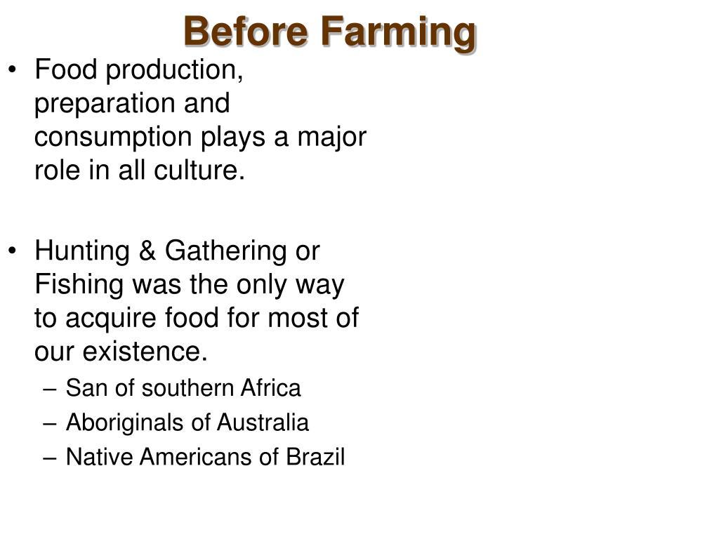 Before Farming