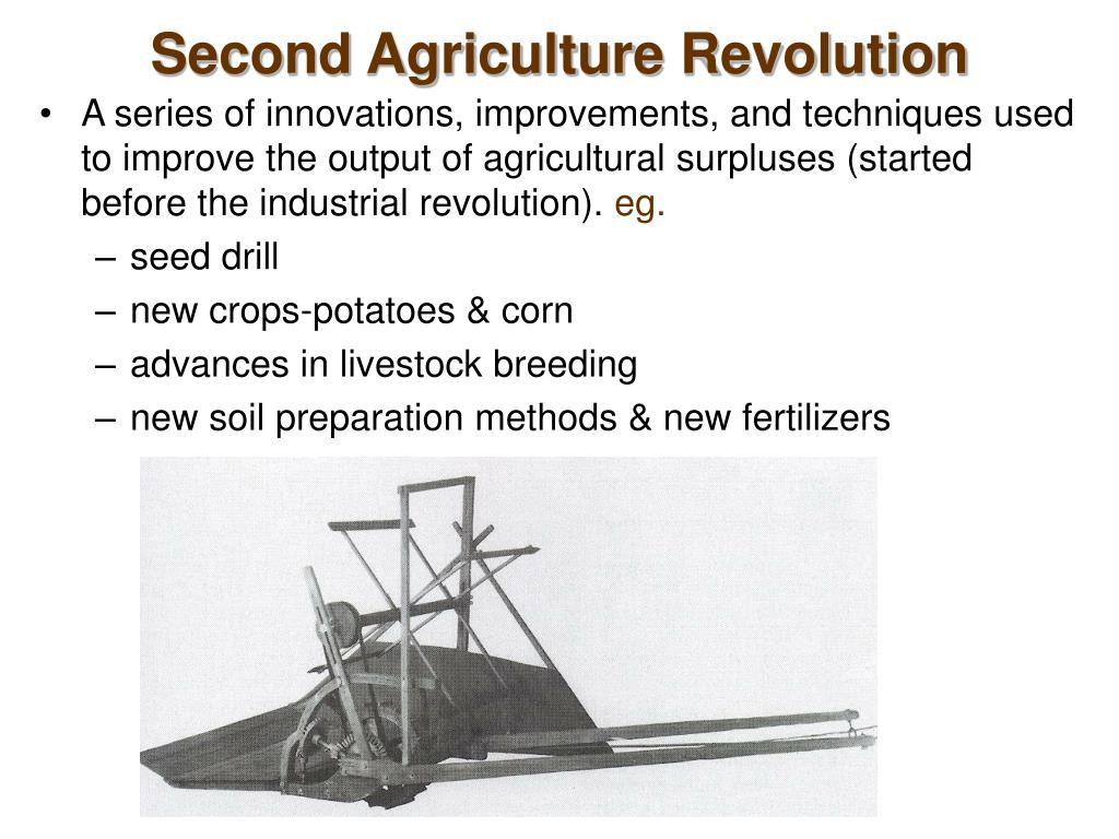 Second Agriculture Revolution