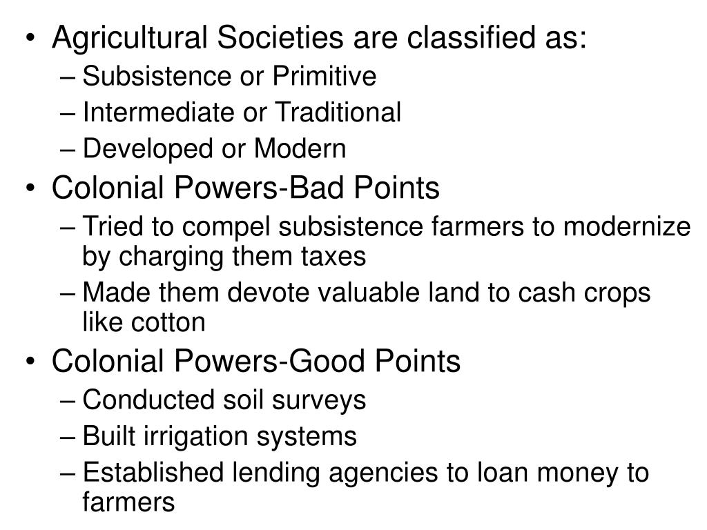 Agricultural Societies are classified as: