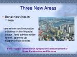 three new areas9