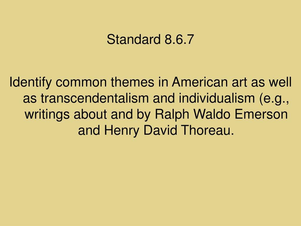 Standard 8.6.7