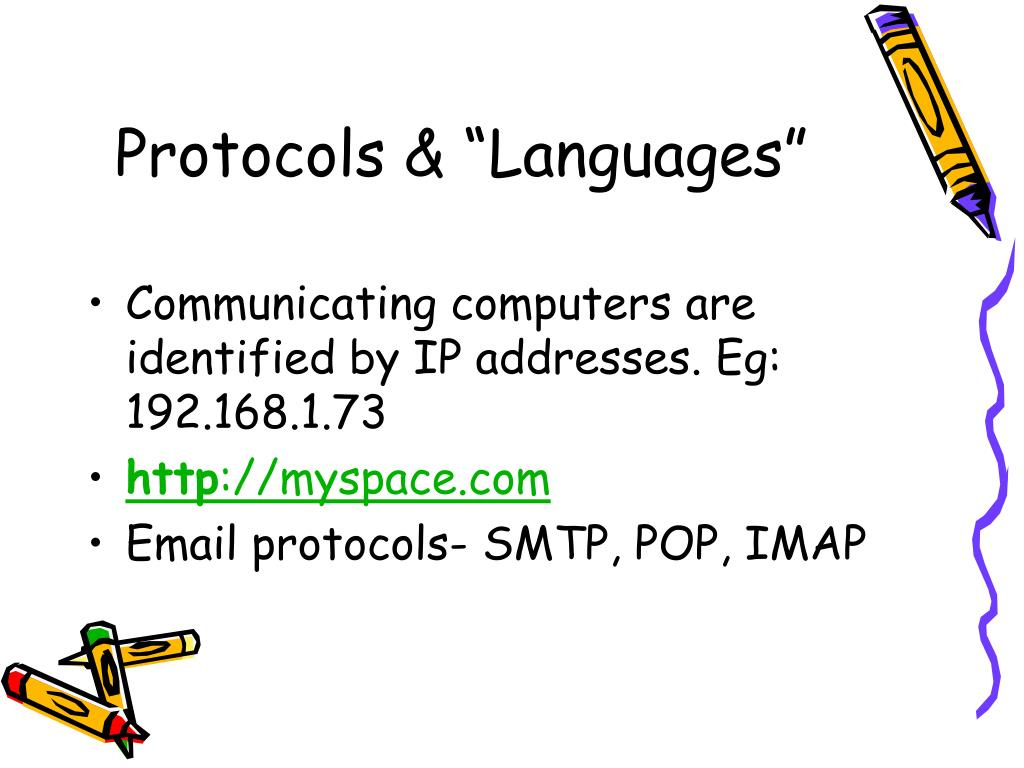 "Protocols & ""Languages"""