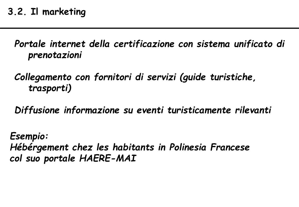 3.2. Il marketing