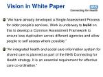 vision in white paper