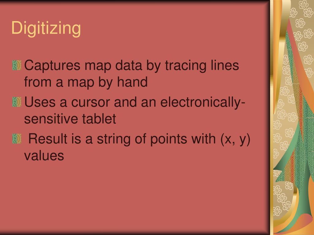 Digitizing