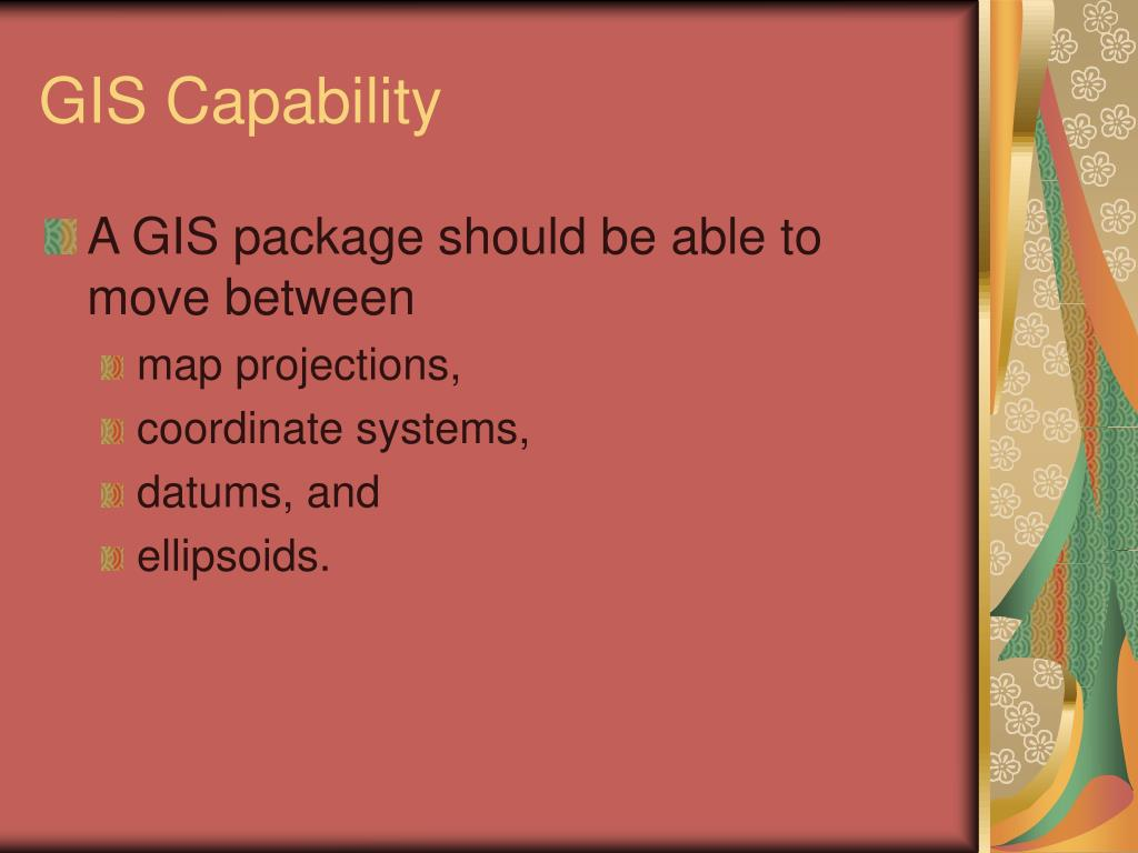 GIS Capability