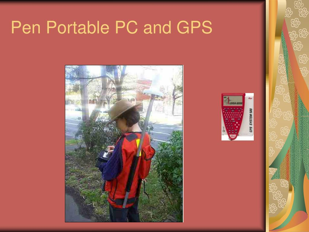 Pen Portable PC and GPS