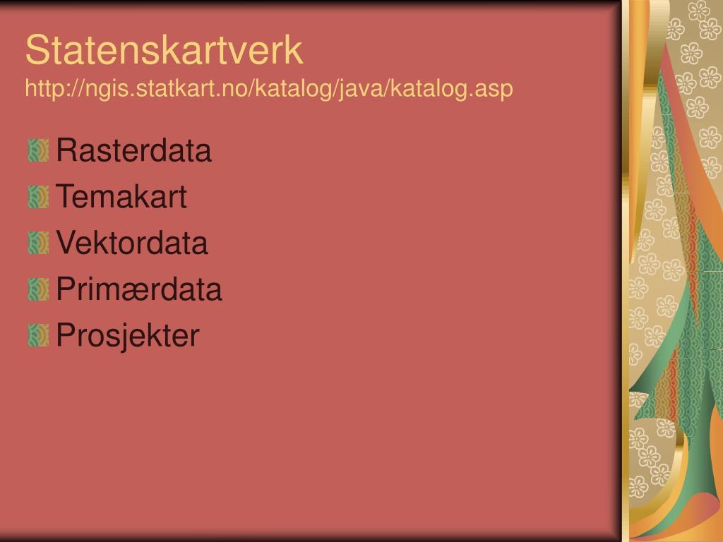 Statenskartverk