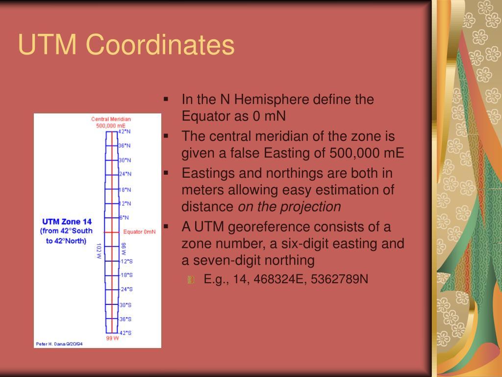 UTM Coordinates