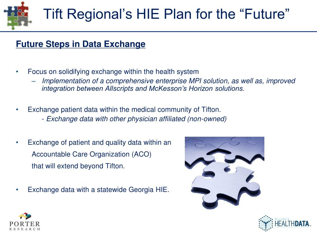 "Tift Regional's HIE Plan for the ""Future"""