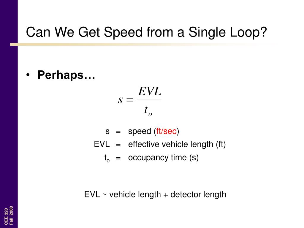 Can We Get Speed from a Single Loop?