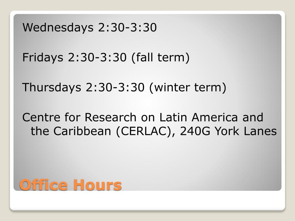 Wednesdays 2:30-3:30