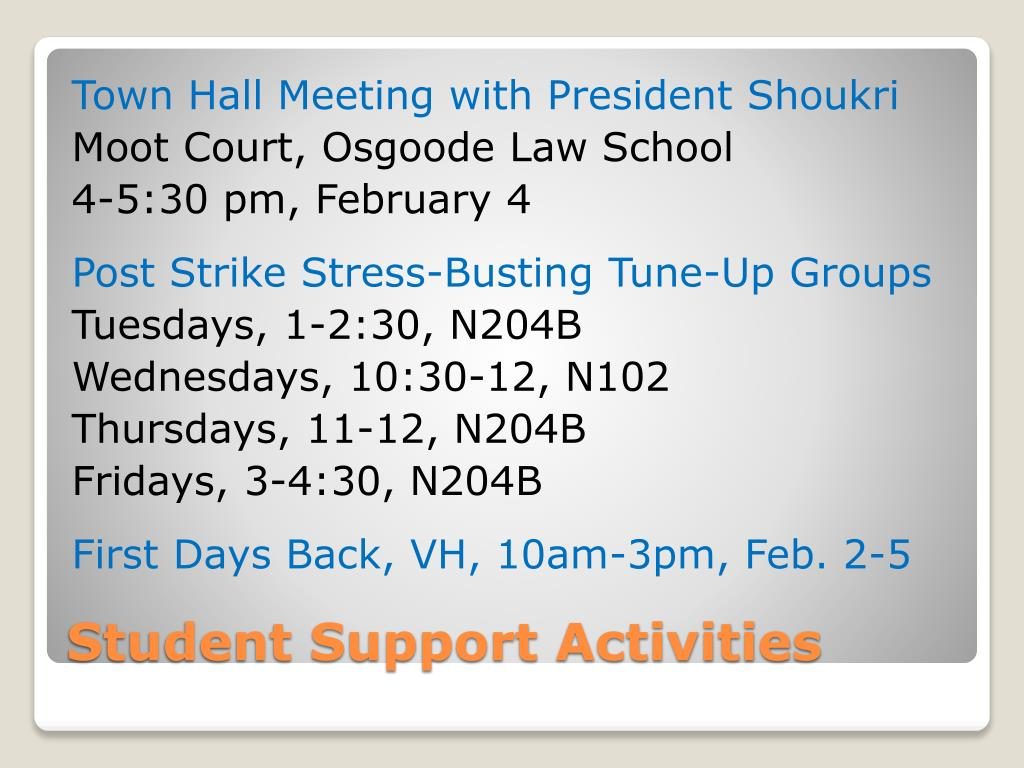 Town Hall Meeting with President Shoukri