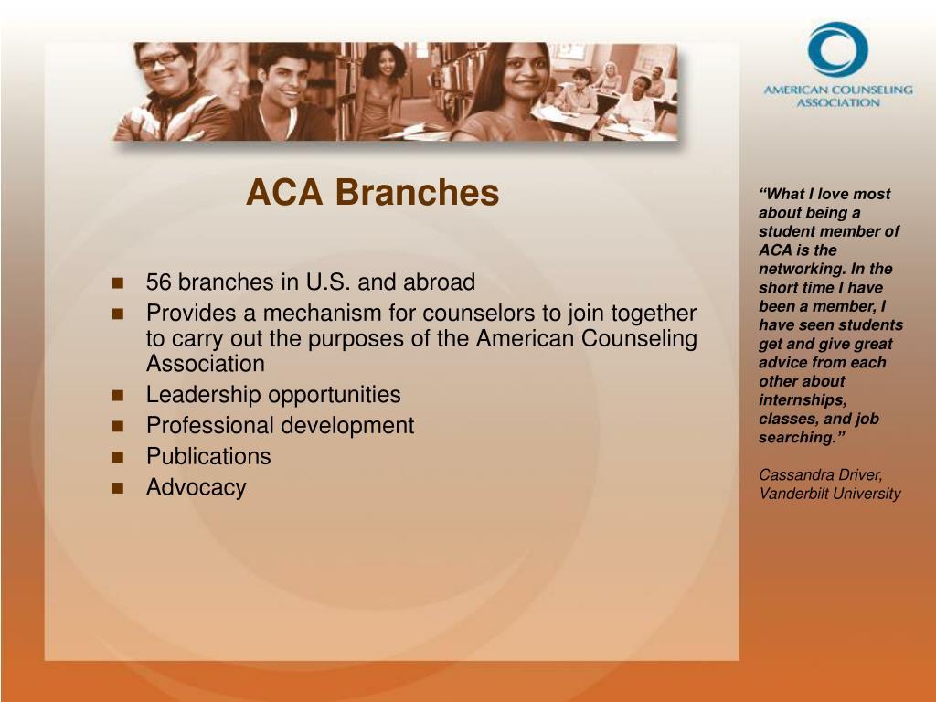 ACA Branches