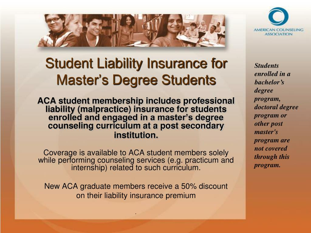 Student Liability Insurance for