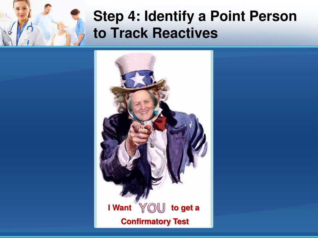 Step 4: Identify a Point Person to Track Reactives