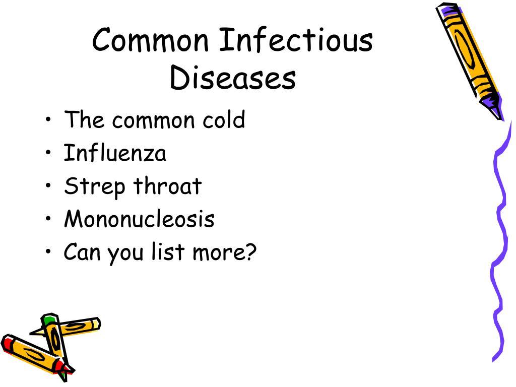 Common Infectious Diseases