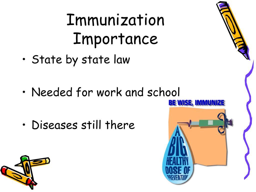 Immunization Importance