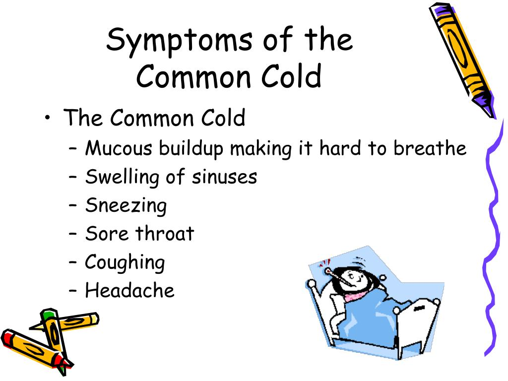 Symptoms of the Common Cold