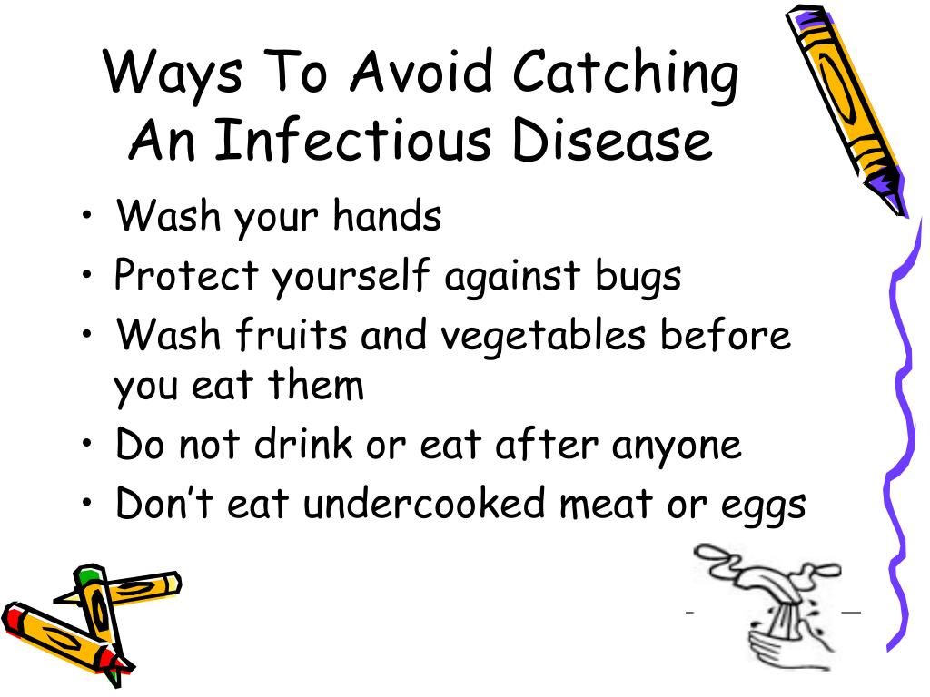 Ways To Avoid Catching An Infectious Disease