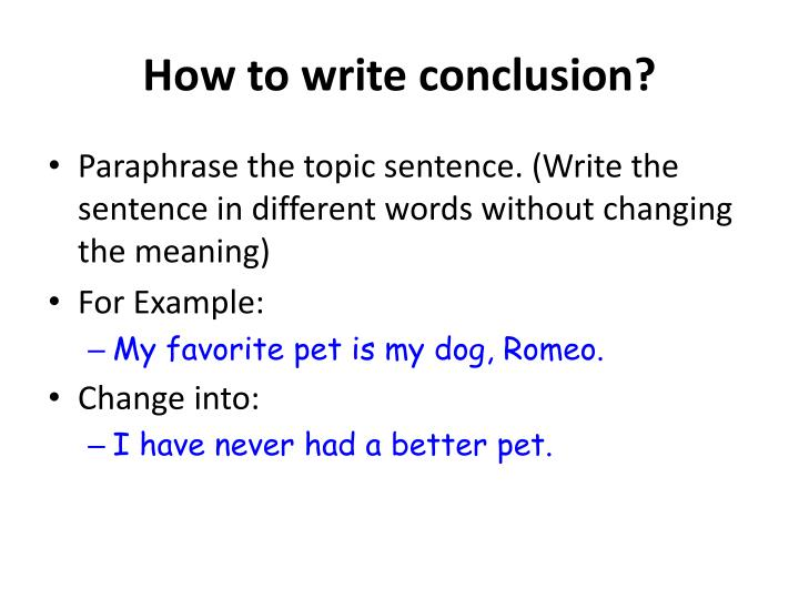 example of implied topic sentence Topic sentence & supporting details if the writer uses an implied topic sentence  for example, i went to a store.
