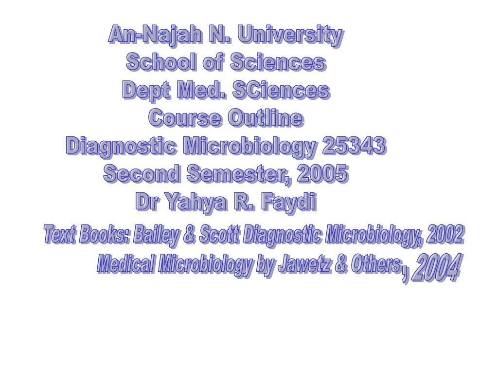 An-Najah N. University