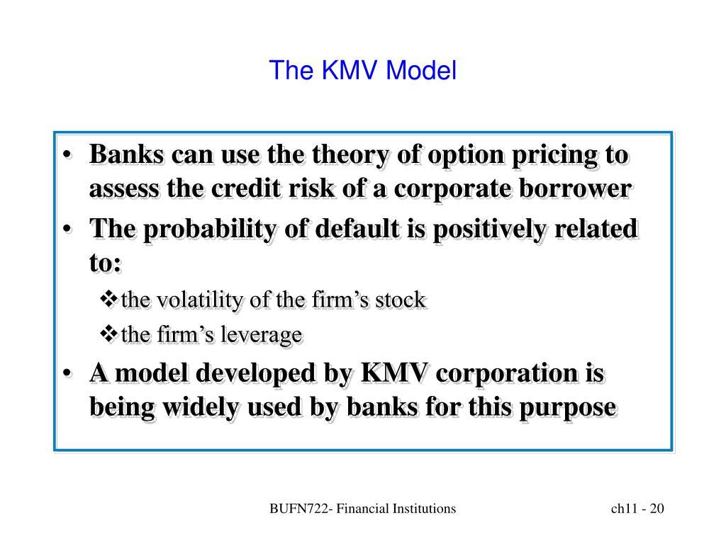 The KMV Model