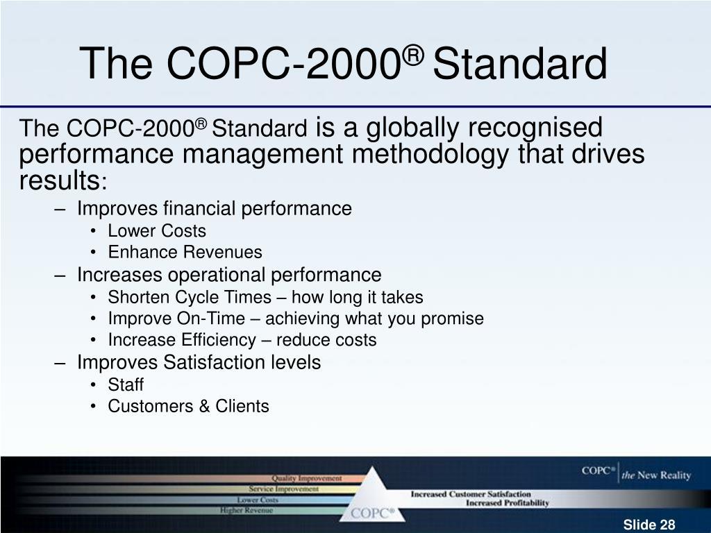 The COPC-2000