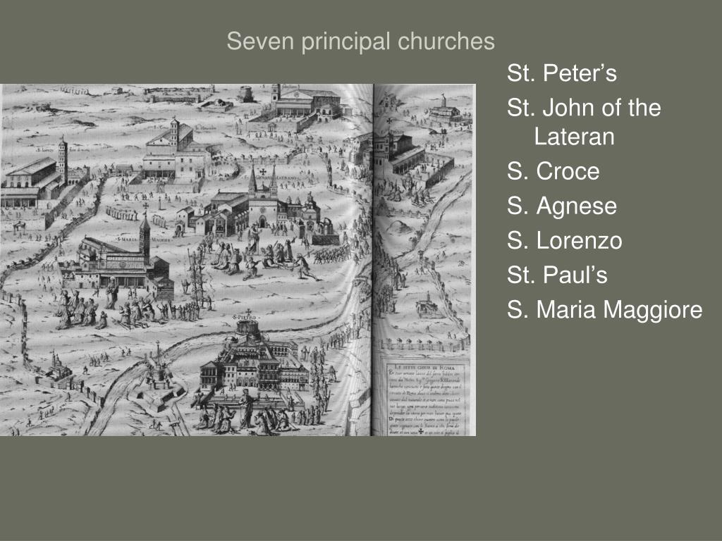 Seven principal churches