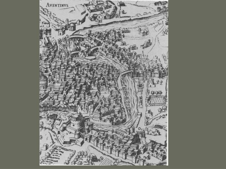Renaissance urbanism in the 15th and 16th centuries