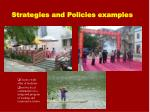 strategies and policies examples