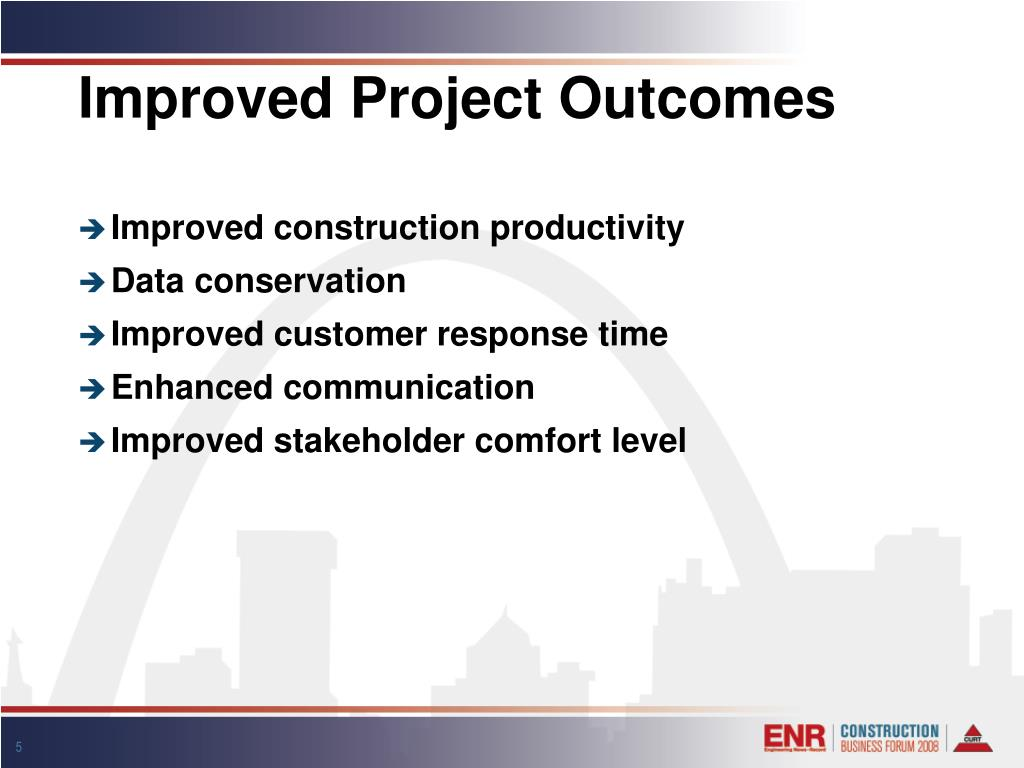 Improved Project Outcomes
