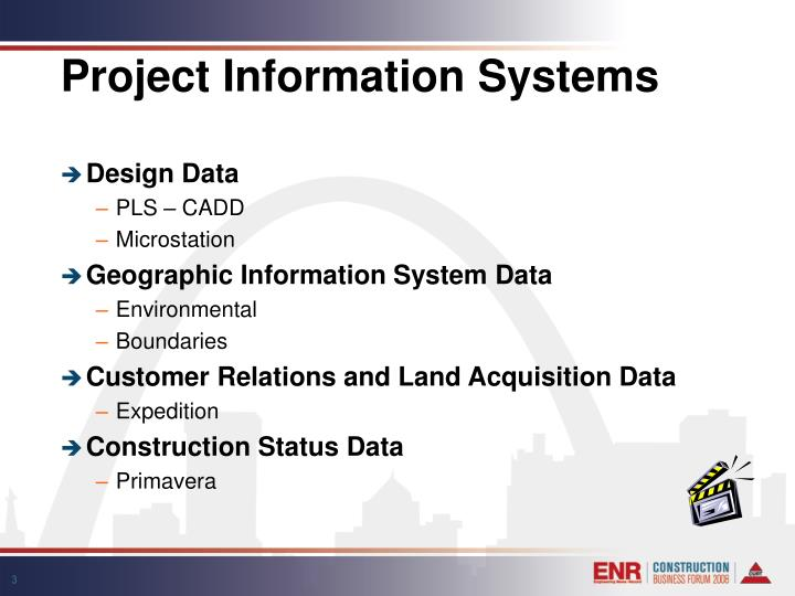 Project information systems