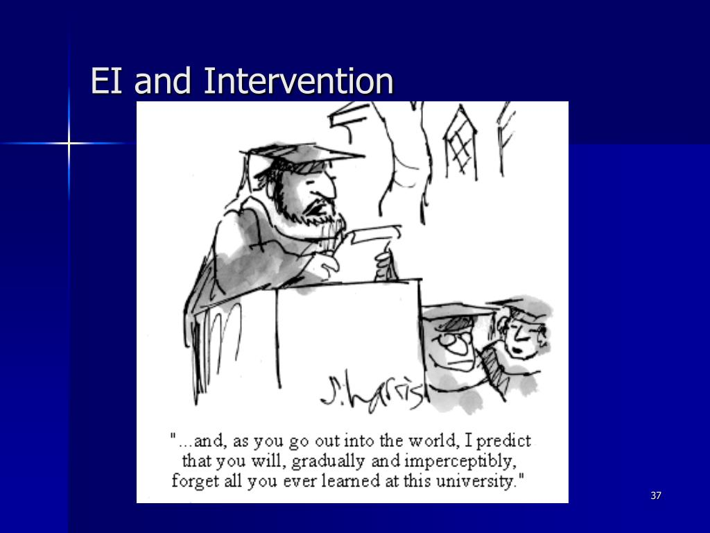 EI and Intervention