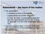 assessment the heart of the matter