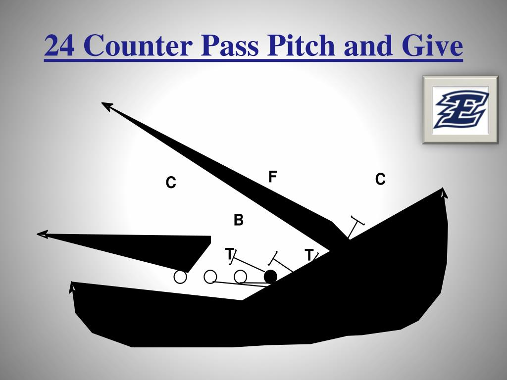 24 Counter Pass Pitch and Give
