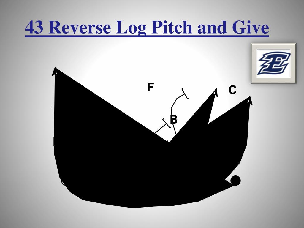 43 Reverse Log Pitch and Give