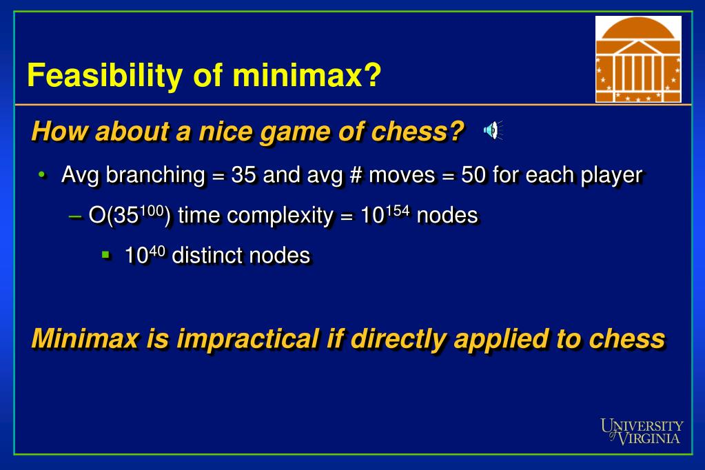 Feasibility of minimax?