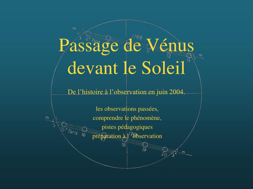 Passage de Vénus