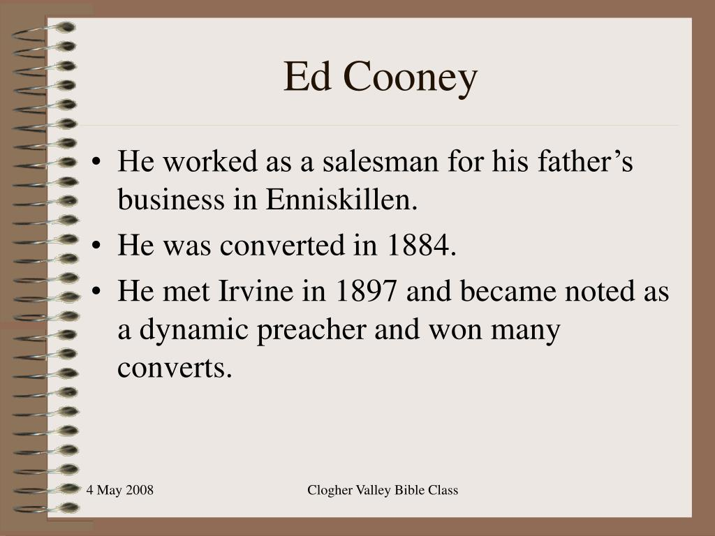 Ed Cooney