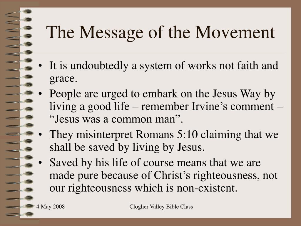 The Message of the Movement