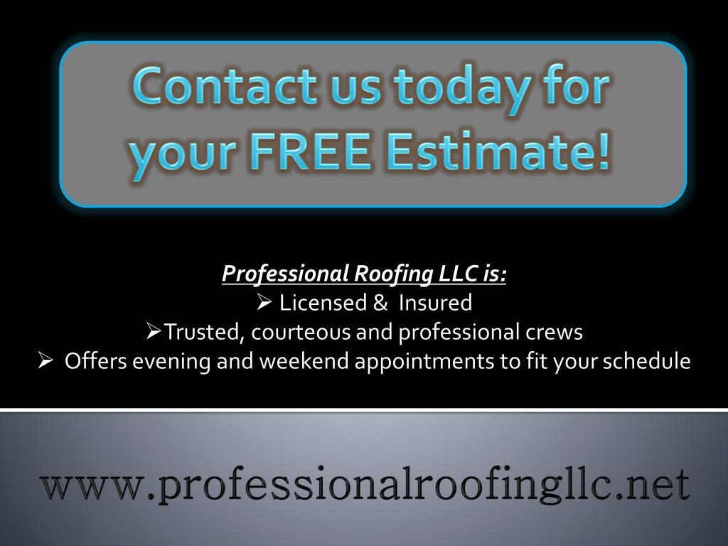 Contact us today for your FREE Estimate!
