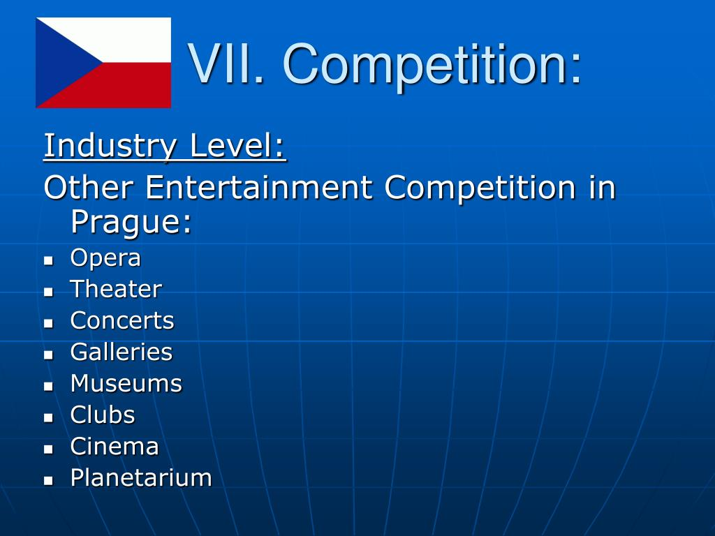 VII. Competition: