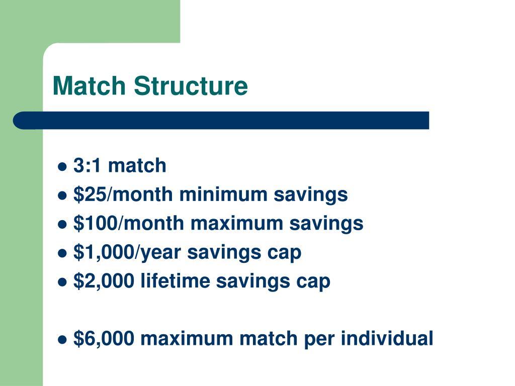 Match Structure